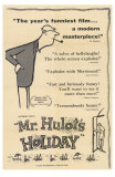 Mr. Hulot&#39;s Holiday, 1953 Prints