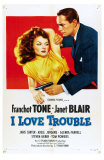I Love Trouble, 1948 Posters