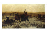 Prince Rupert, his Last Charge at Edgehill Giclee Print by Stanley Berkeley