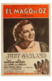 The Wizard of Oz, Argentine Movie Poster, 1939 Photo