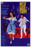 West Side Story, Italian Movie Poster, 1961 Print