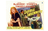 Double Indemnity, UK Movie Poster, 1944 Posters