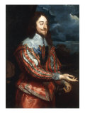 Portrait of Charles I Giclee Print by Anthony Van Dyck