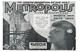 Metropolis, UK Movie Poster, 1926 Prints