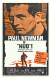 Hud, Spanish Movie Poster, 1963 Posters