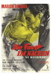 On the Waterfront, German Movie Poster, 1954 Kuvia