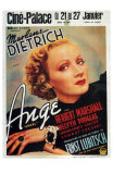 Angel, Belgian Movie Poster, 1937 Posters