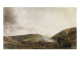 A Yorkshire Quarry Giclee Print by Peter De Wint