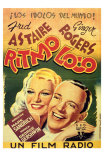 Shall We Dance, Spanish Movie Poster, 1937 Prints
