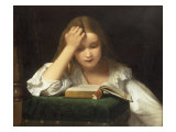 A Quiet Read, 1863 Giclee Print by William Dobson