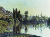La Seine a Vetheuil, 1881 Giclee Print by Claude Monet
