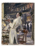 Cafe Waiter, 1907 Prints by Max Slevogt