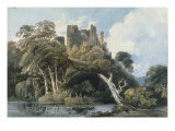 Berry Pomeroy Castle, Devon, c.1797 Posters by Thomas Girtin