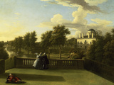 Chiswick House, Middlesex, 1741 Giclee Print by William Hogarth