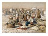 A Country Market, 1895 Posters by Vladimir Egorovic Makovsky