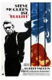 Bullitt, German Movie Poster, 1968 Prints