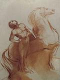 Le Char de Soleil Prints by Odilon Redon