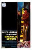 Midnight Cowboy, Belgian Movie Poster, 1969 Prints