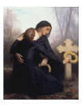 Le Jour Des Morts (All Soul's Day) Posters by William Adolphe Bouguereau