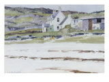 Coastal Cottages Giclee Print by Francis Campbell Boileau Cadell