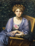 Portrait of Lady Markham Giclee Print by Edward John Poynter