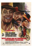 Butch Cassidy and the Sundance Kid, Italian Movie Poster, 1969 Print