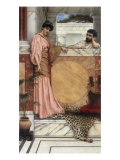 Waiting for an Answer, 1889 Giclee Print by John William Godward