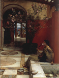 The Oleander Giclee Print by Sir Lawrence Alma-Tadema