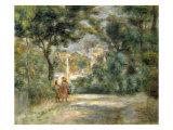 Vue du Sacre Coeur, 1905 Giclee Print by Pierre-Auguste Renoir