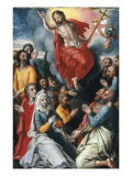 The Ascension of Christ Poster by Pieter Aertsen
