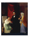 The Doctor's Visit, 1834 Giclee Print by Wilhelm Marstrand