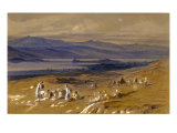 View of Joannina, Greece, 1856/1862 Giclee Print by Edward Lear