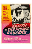 Earth vs. the Flying Saucers, 1956 Prints