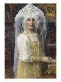 Young Russian Bride Gicl&#233;e-Druck von Victor Mikhailovich Vasnetsov