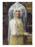 Young Russian Bride Giclée-Druck von Victor Mikhailovich Vasnetsov