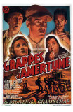 The Grapes of Wrath, French Movie Poster, 1940 Posters