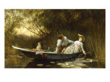 Simpletons, the Sweet River, c.1872 Giclee Print by Sir Samuel Luke Fildes