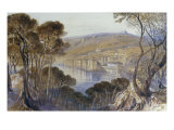View of Villefranche, 1865 Posters by Edward Lear