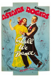 Shall We Dance, 1937 Affiches