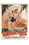 Tarzan The Ape Man, French Movie Poster, 1932 Prints