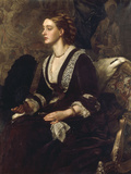A Portrait of Mrs Archibald Milman, 1877 Posters by Edward John Poynter