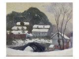 Sandviken, Norvega, 1895 Giclee Print by Claude Monet