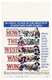 How the West Was Won, 1964 Poster