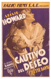 Of Human Bondage, Spanish Movie Poster, 1934 Posters