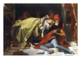 Paolo et Francesca, 1870 Giclee Print by Alexandre Cabanel