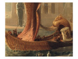The Embarkation of Cleopatra on the Cydnus Giclee Print by Francis Danby