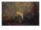 Midsummer Night' or 'Iris', 1876 Giclee Print by John Atkinson Grimshaw