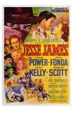 Jesse James, 1939 Poster