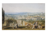 Florence from the Chiesa al Monte, 1818 Posters by William Turner