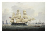 A British Merchantman off the South Coast Giclee Print by Samuel Walters